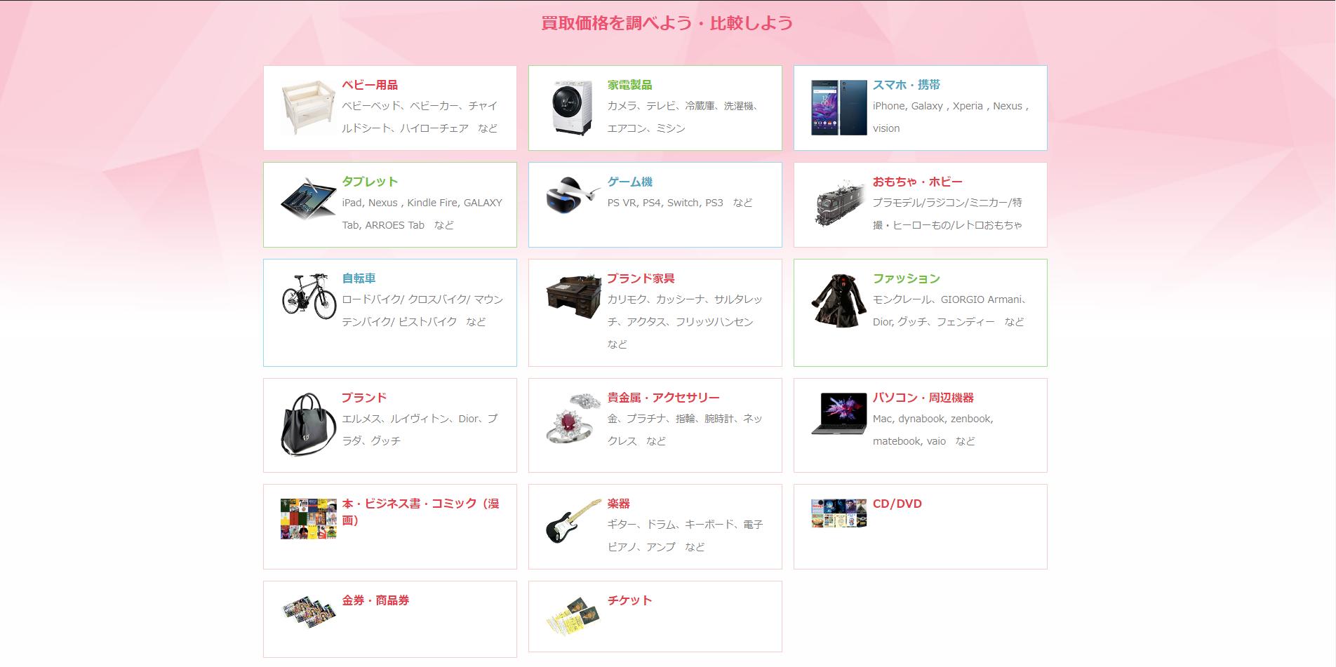 江戸川区のリサイクルショップを取扱品目別に紹介!